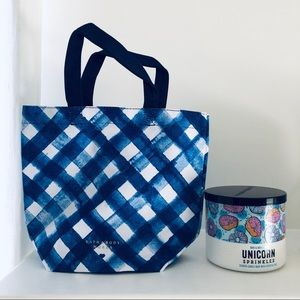 Bath and Body Works Gift Tote Bags Gingham